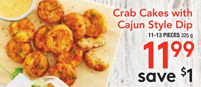 Crab Cakes With Cajun Style Dip
