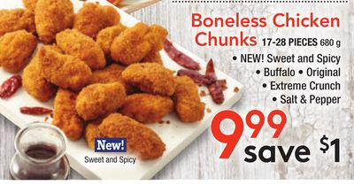Boneless Chicken Chunks