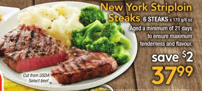 New York Striploin Steaks