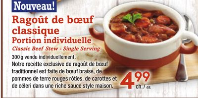 Classic Beef Stew - Single Serving
