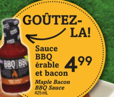 Maple Bacon Bbq Sauce