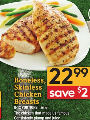 Boneless - Skinless Chicken Breasts