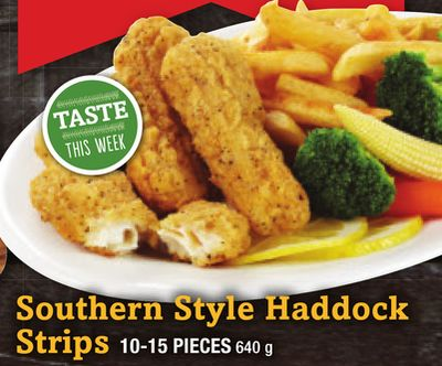 Southern Style Haddock Strips