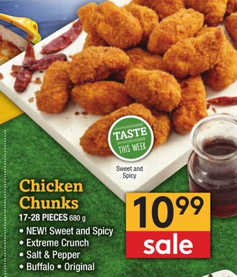 Chicken Chunks