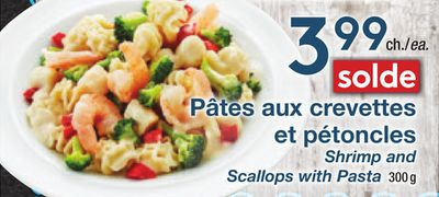 Shrimp and Scallops With Pasta