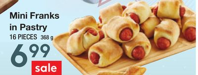 Mini Franks In Pastry
