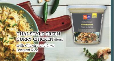 Thai-style Green Curry Chicken