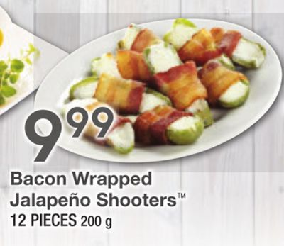 Bacon Wrapped Jalapeño Shooters 12 Pieces 200 g
