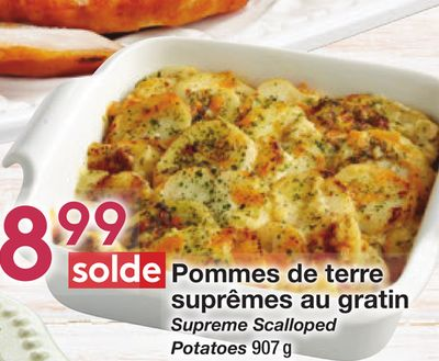 Supreme Scalloped Potatoes
