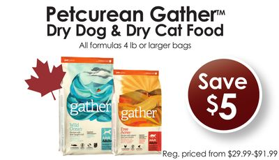 Petcurean Gather Dry Dog & Dry Cat Food
