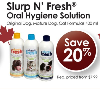 Slurp N' Fresh Oral Hygiene Solution