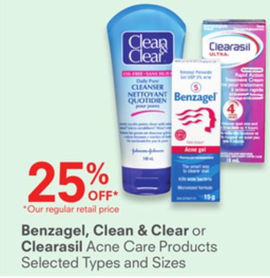 Benzagel - Clean & Clear or Clearasil