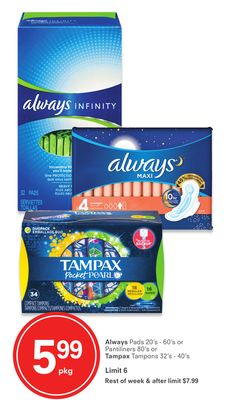 Always or Tampax