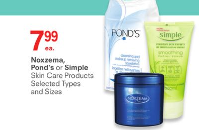 Noxzema - Pond's or Simple