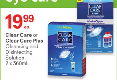 Clear Care or Clear Care Plus