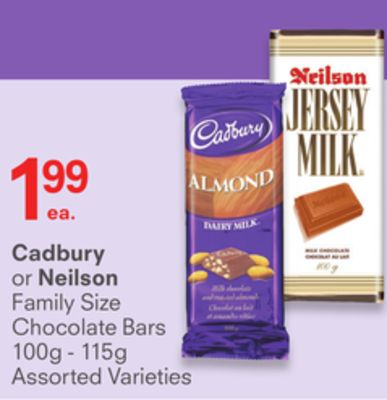 Cadbury or Neilson