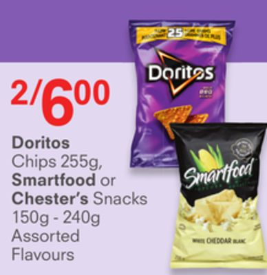 Doritos - Smartfood or Chester's