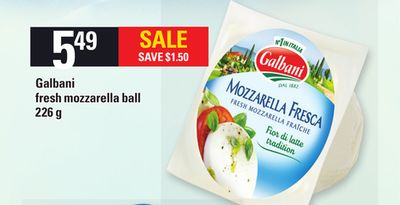 Galbani Fresh Mozzarella Ball - 226 g