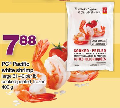 PC Pacific White Shrimp - 400 g