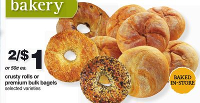 Crusty Rolls Or Premium Bulk Bagels