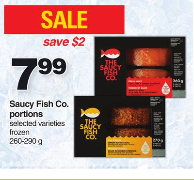 Saucy Fish Co. Portions 260-290 G