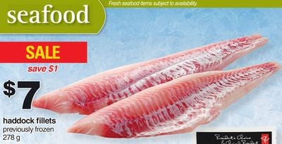 Haddock Fillets 278 g