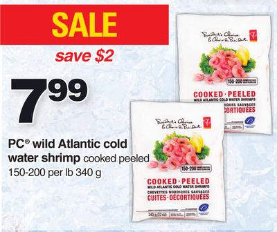 PC Wild Atlantic Cold Water Shrimp - 340 g