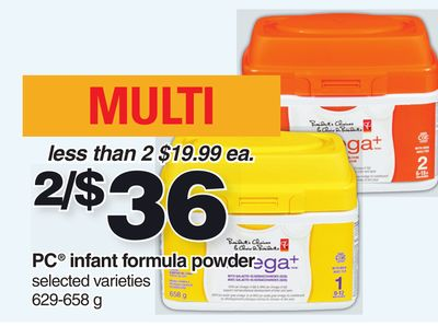PC Infant Formula Powder - 629-658 g