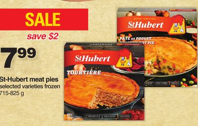 St-hubert Meat Pies - 715-825 G