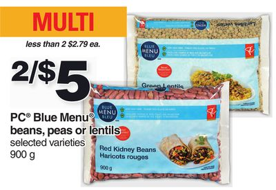 PC Blue Menu Beans - Peas Or Lentils - 900 G