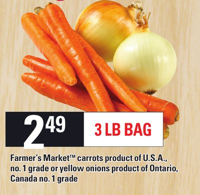 Farmer's Market Carrots - 3 Lb Bag