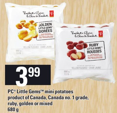 PC Little Gems Mini Potatoes - 680 g