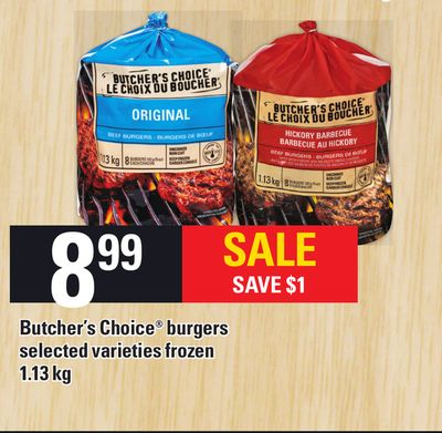 Butcher's Choice Burgers