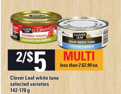 Clover Leaf White Tuna - 142-170 G