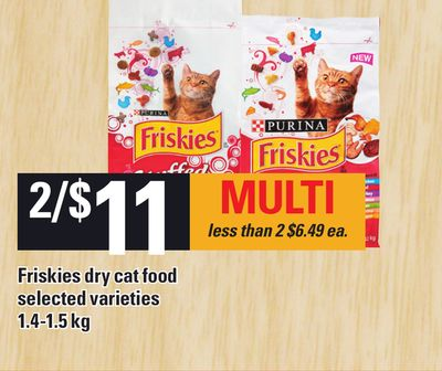 Friskies Dry Cat Food