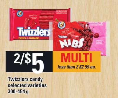 Twizzlers Candy - 300-454 g