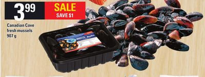 Canadian Cove Fresh Mussels 907 g