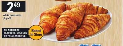 White Croissants Pkg Of 6