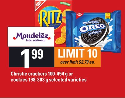 Christie Crackers 100-454 G Or Cookies 198-303 G