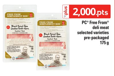 PC Free From Deli Meat - Pre-packaged 175 G