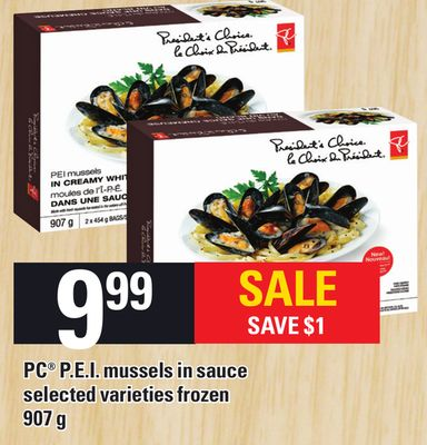 PC P.e.i. Mussels In Sauce - 907 g