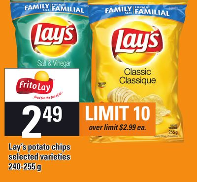Lay's Potato Chips - 240-255 g