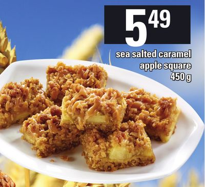 Harvest Sea Salted Caramel Apple Square - 450 g
