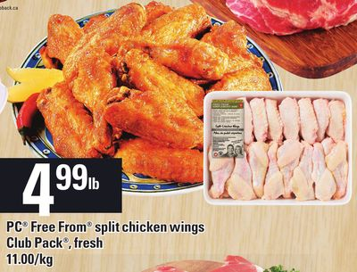 PC Free From Split Chicken Wings - 11.00/kg