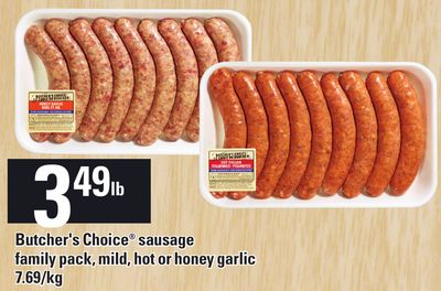 Butcher's Choice Sausage