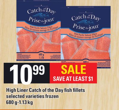 High Liner Catch Of The Day Fish Fillets - 680 G - 1.13 Kg