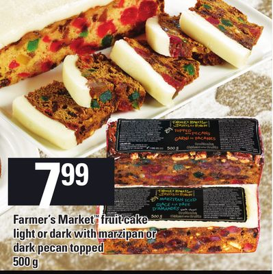 Farmer's Market Fruit Cake - 500 g