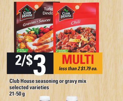 Club House Seasoning Or Gravy Mix - 21-50 G
