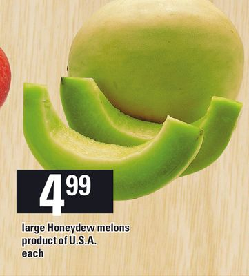Large Honeydew Melons