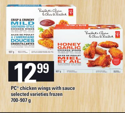 PC Chicken Wings With Sauce - 700-907 G
